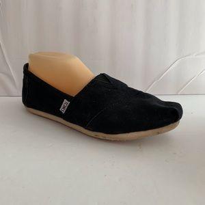 Toms Shoes - Toms Black Canvas Flats